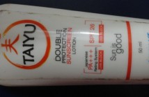Taiyu Double Protection sunscreen lotion