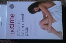 Metime exfoliating hair removal pads