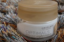 Oriflame Optimals Even Out Night Cream