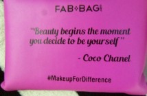 March Fab Bag Reviews #MakeupForDifference