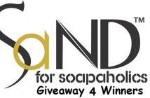 SaND for Soapaholics Giveaway 4 Winners