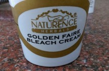 Naturence Herbals Golden Faire Bleach Cream