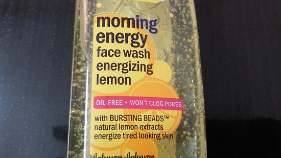 Clean and Clear Morning Energizing Lemon Energy Face Wash