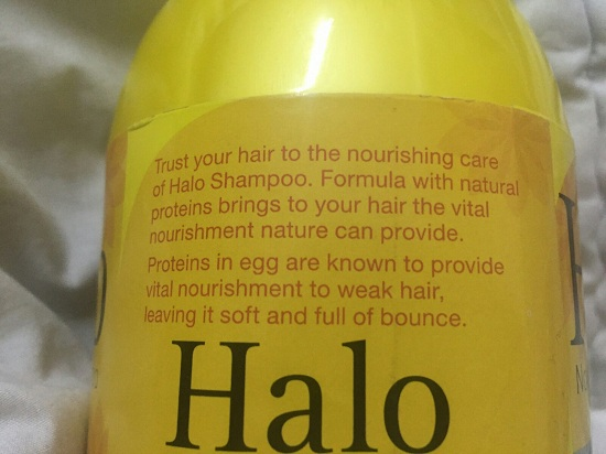 Halo Nourishing Shampoo with Natural Protein and Egg