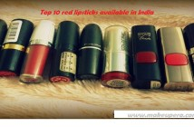 Top 10 Matte Red Lipsticks Available in India