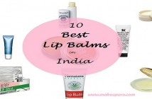 Top 10 lip balms available in India