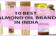 Top 10 almond hair oils available in India