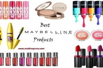 Top 10 Maybelline products available in India
