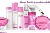 Top 10 Ponds products available in India