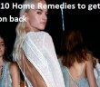 Best top 10 Home Remedies to Get Rid of Pimples on Back