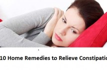 Top 10 home remedies to relieve constipation