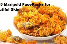 Top 5 Marigold Facepacks for Beautiful Skin