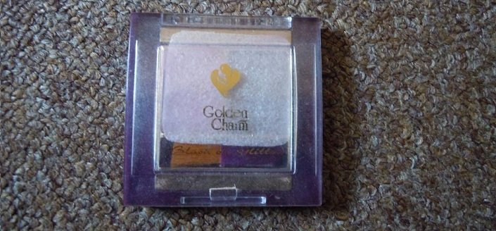 Golden Charm Blush on Glitter Review