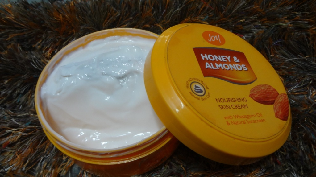 Joy Honey and Almonds Nourishing Cream