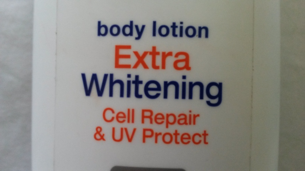 Nivea UV Whitening Extra Cell Repair and Protect Body Lotion