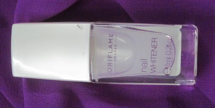 Oriflame Nail Whitener Review