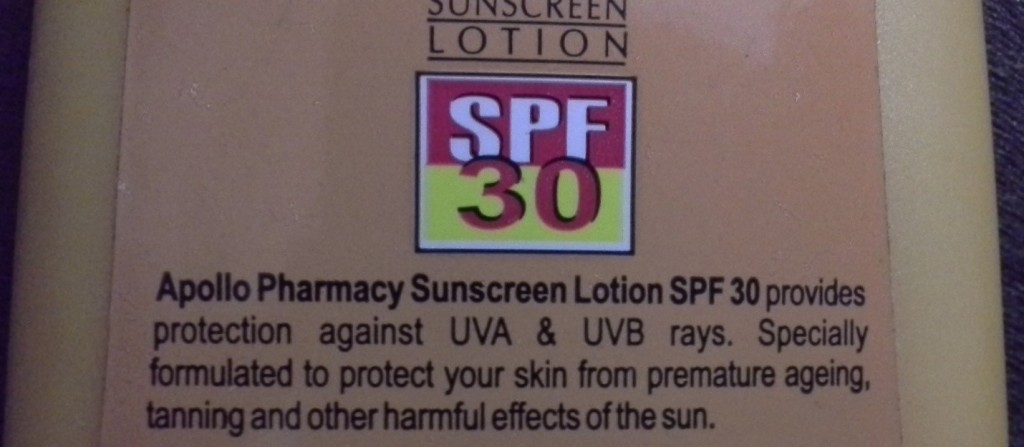 Apollo Pharmacy Sunscreen Lotion SPF 30