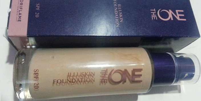 Oriflame the ONE illuskin foundation SPF 20 natural beige reviews