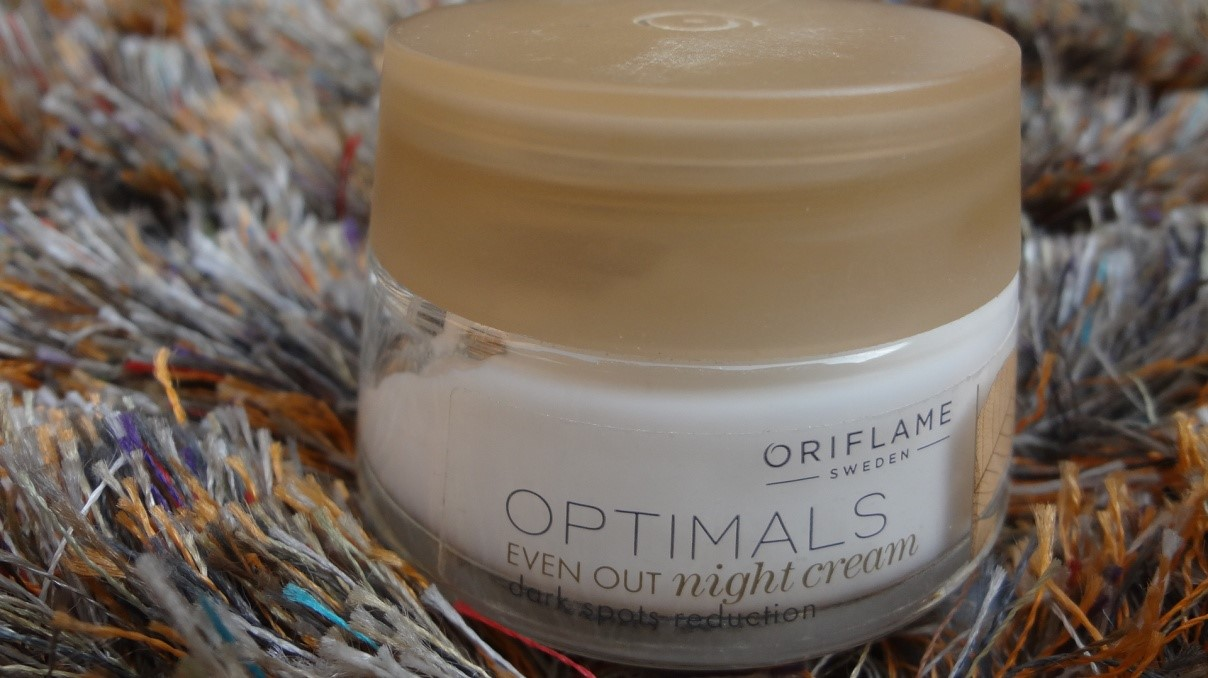 Oriflame Optimals Even Out Night Cream Reviews
