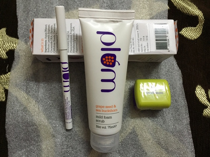 Organic Products from Plum and My Shopping Experience