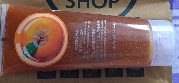 The Body Shop Satsuma Body Polish Reviews