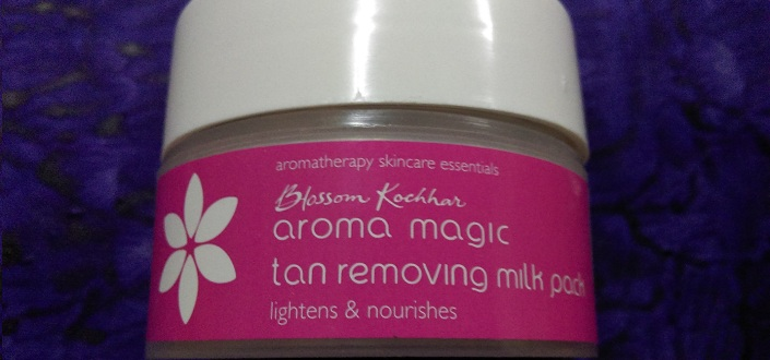 Aroma Magic Tan Removing Milk Pack Review