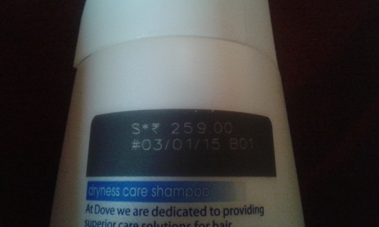Dove Hair Therapy Dryness Care Shampoo