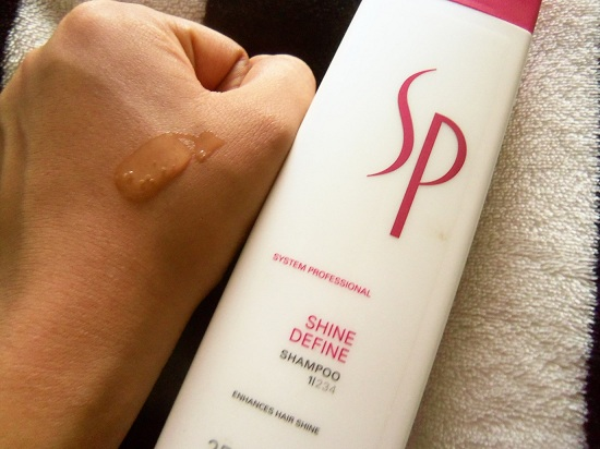 SP System Professional Shine Define Shampoo