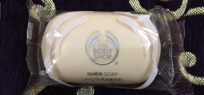 The Body Shop Shea Soap Review