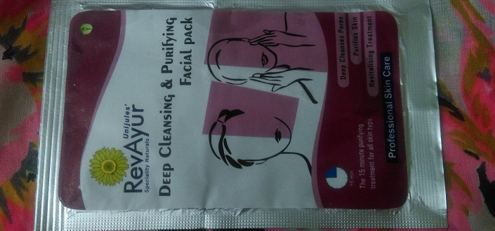 RevAyur Deep Cleansing and Purifying Facial Pack Review