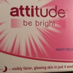 Attitude Be Bright Night Cream