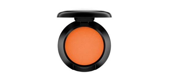 MAC Cheer Me on Bright Intense Orange Matte Eyeshadow