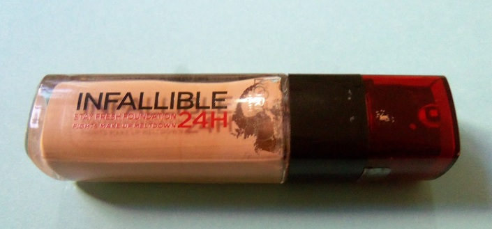 Loreal Paris 235 Miel Honey Infallible 24H Stay Fresh Foundation Review