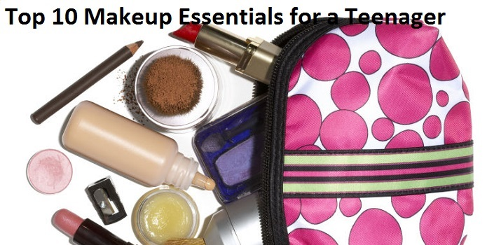 Top 10 Makeup Essentials for a Teenager