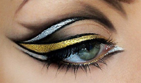 Top 10 ways to apply an eyeliner